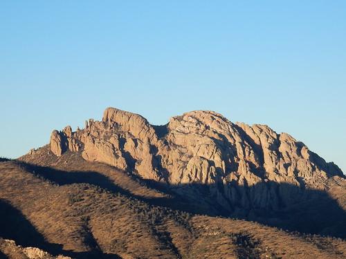 Chiricahua NM - Cochise Head - liggend