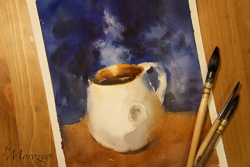 Hot chocolate. Mug. Горячий шоколад. Кружка.