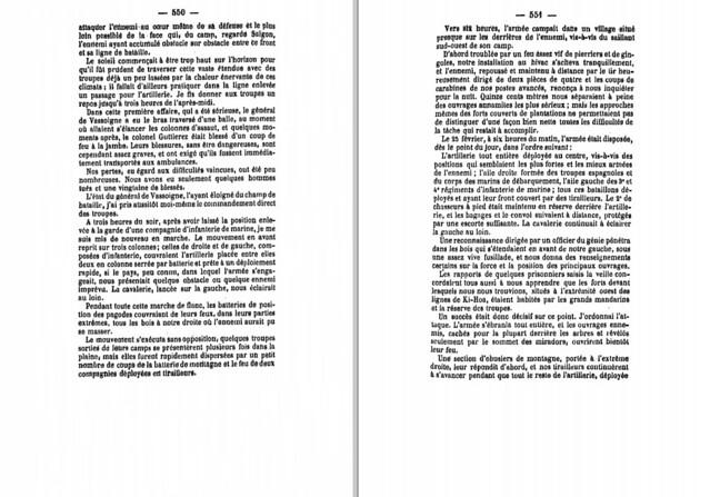 P550-551 Cuộc viễn chinh Nam Kỳ - Chiếm đồn Kỳ Hòa
