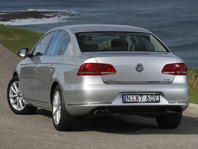 Volkswagen Passat TDI BlueMotion (B7) для рынка Австралии. 2010 – 2015 годы