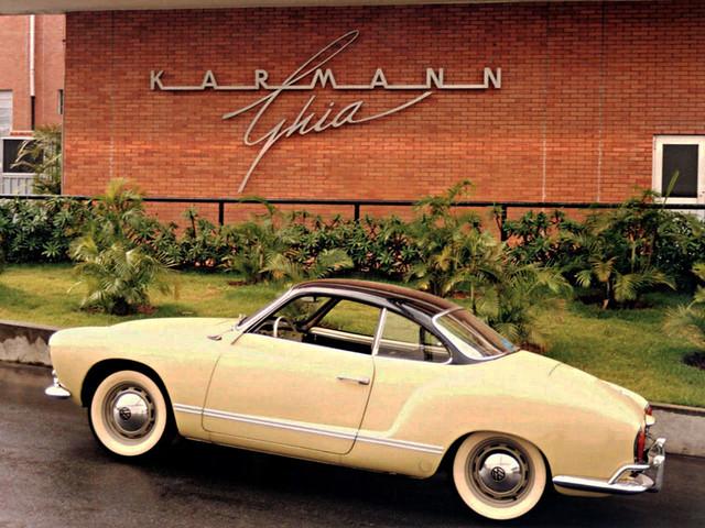 Volkswagen Karmann-Ghia Coupe (Typ 14). 1955 – 1974 годы