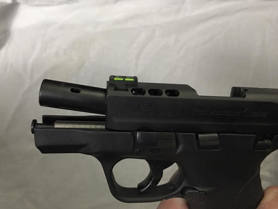 Smith wesson forum view single post performance for M p ported shield 9mm