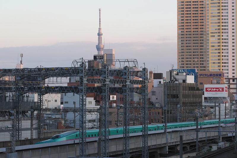 Tokyo Train Story 東北新幹線 2015年12月20日