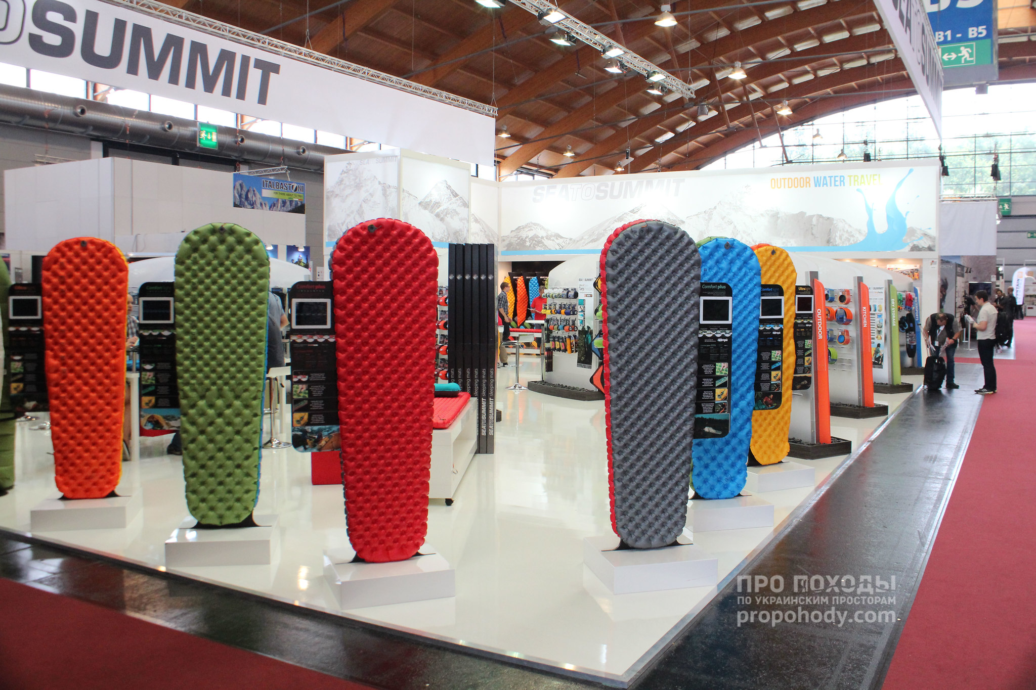 Sea To Summit on Outdoor Show 2014
