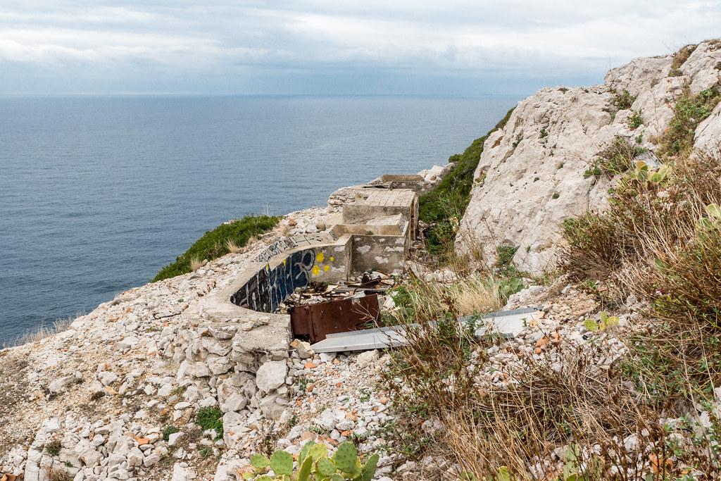 Batterie Sémaphore de Croisette Callelongue (Marseille, 13) 23942437052_d299ffe823_b