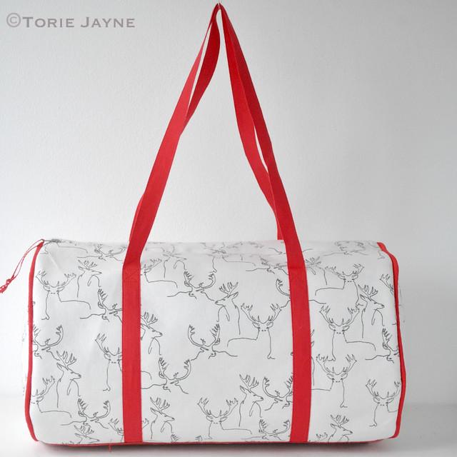 Handmade duffell bag