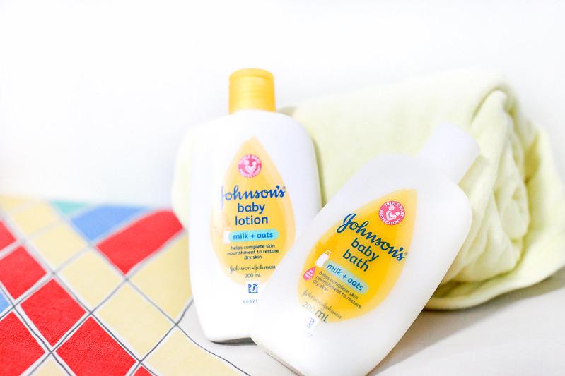JOHNSON'S® Milk+Oats™ Bath and Lotion