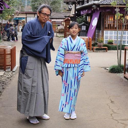 さむがりさんのおさむらいさん。 #日光江戸村 #edowonderland