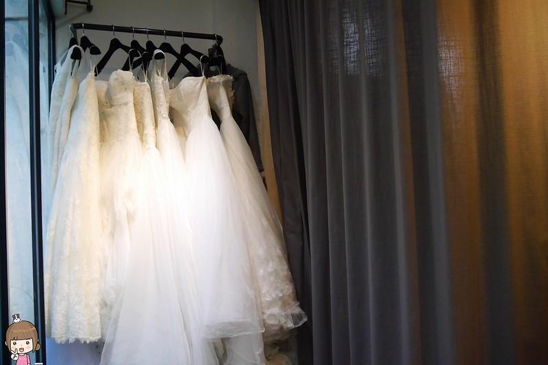 閨蜜婚紗之工作室挑婚紗
