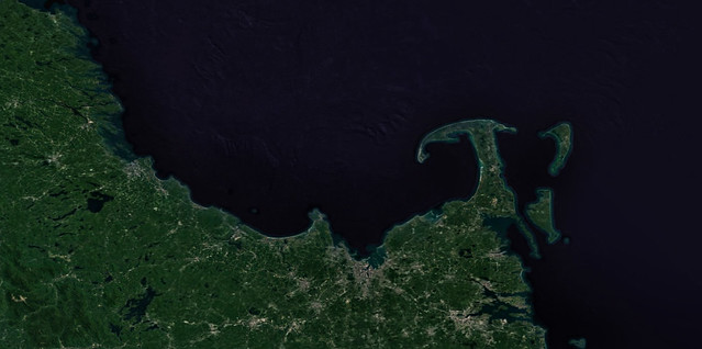 google maps; Massachusetts landform