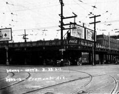 34th and Fremont, Seattle, 1937
