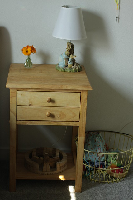 L's nightstand