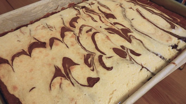 Cheesecake Swirl Brownies 17
