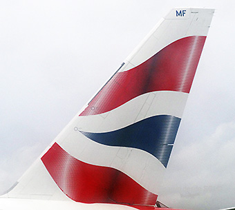 British Airways B777 tail (RD)