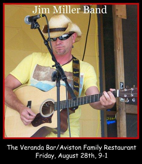 Jim Miller Band 8-28-15