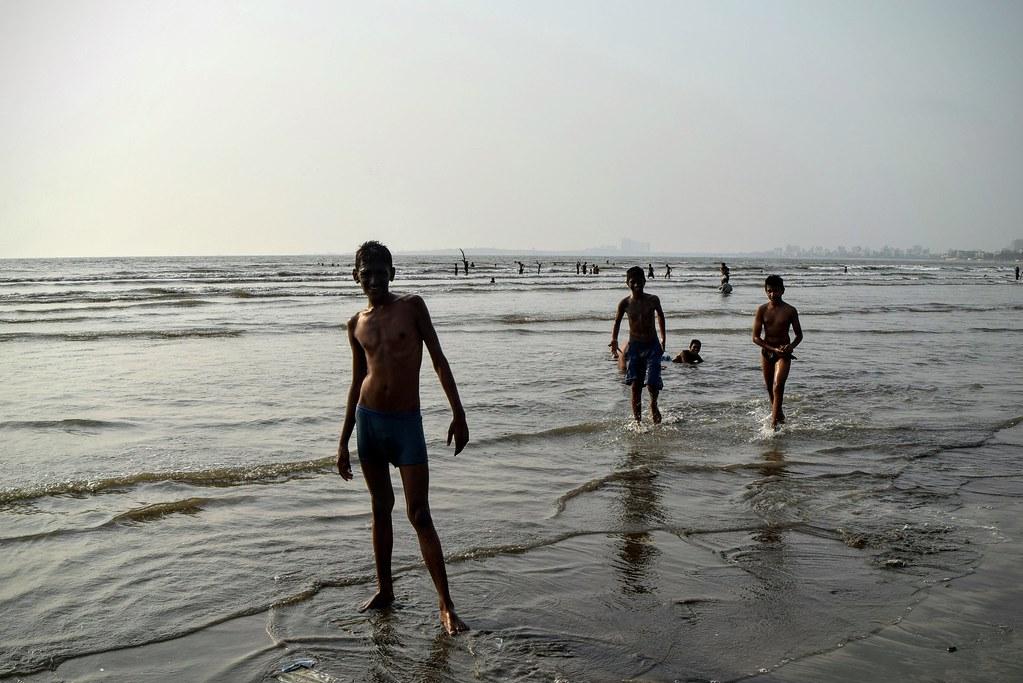 Мумбаи пляж