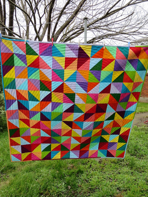 The Problematic Apricot - a group quilt