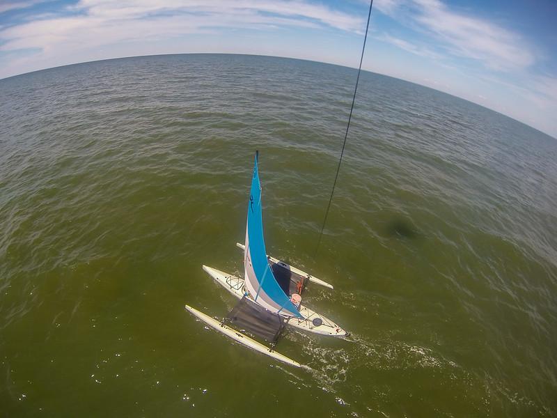 Sail KAPing Above Long Island Sound