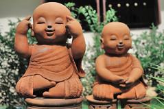 Thinking statue, Chiang Mai, Thailand
