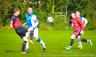 Cliffe FC Sunday 1 - 4 York Phoenix 6Sept15