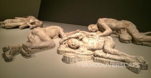 Pompeii: Victims cast exhibition
