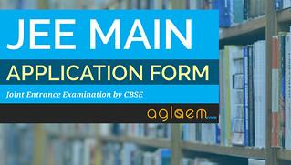 JEE Main 2017 Application Form