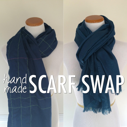 #handmadescarfswap by Hey it's SJ