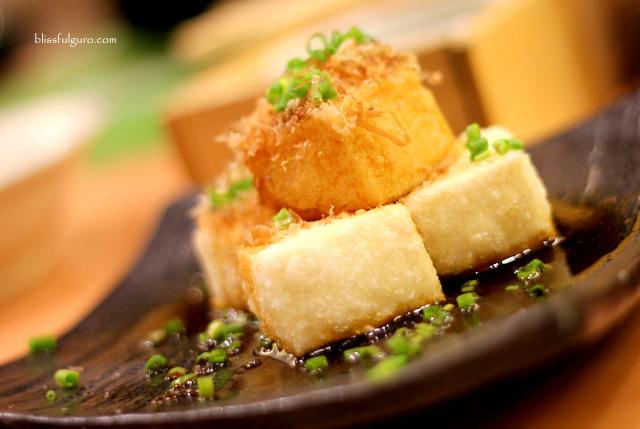 Saboten Makati City Agedashi Tofu