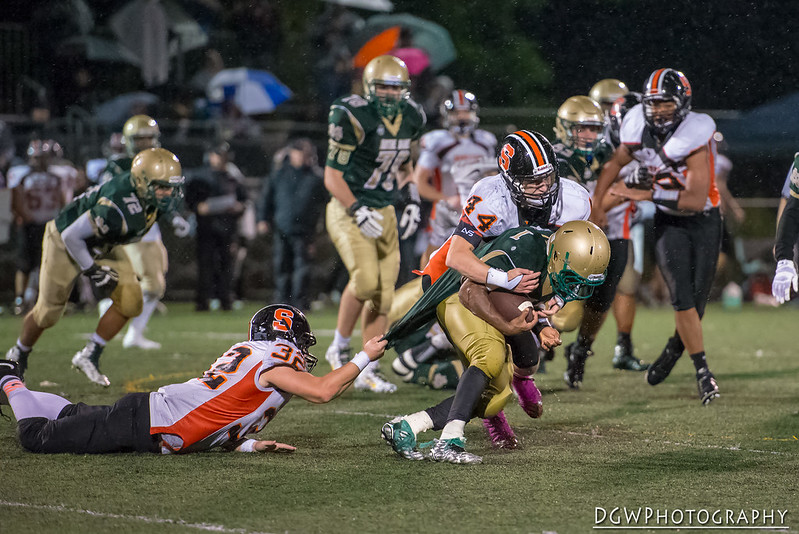 Shelton High vs. Notre Dame of West Haven - High School Football