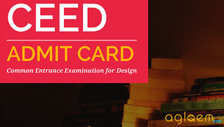 CEED Admit Card 2016 / Hall Ticket - Download Here