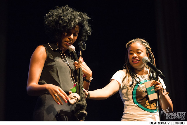 Jessica Williams and Phoebe Robinson