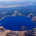 Crater Lake from the sky by josquin2000