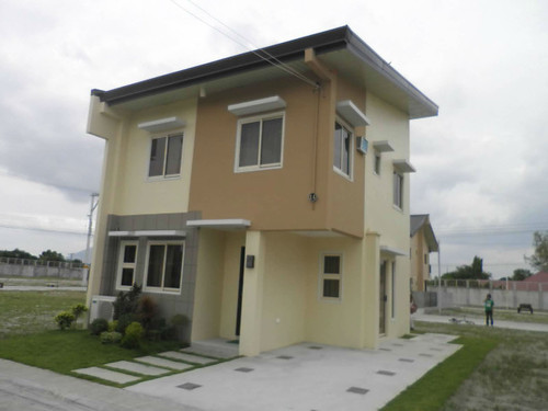 House for Sale Angeles City Nouveau Residences P2.5M only! Ref# 0000717