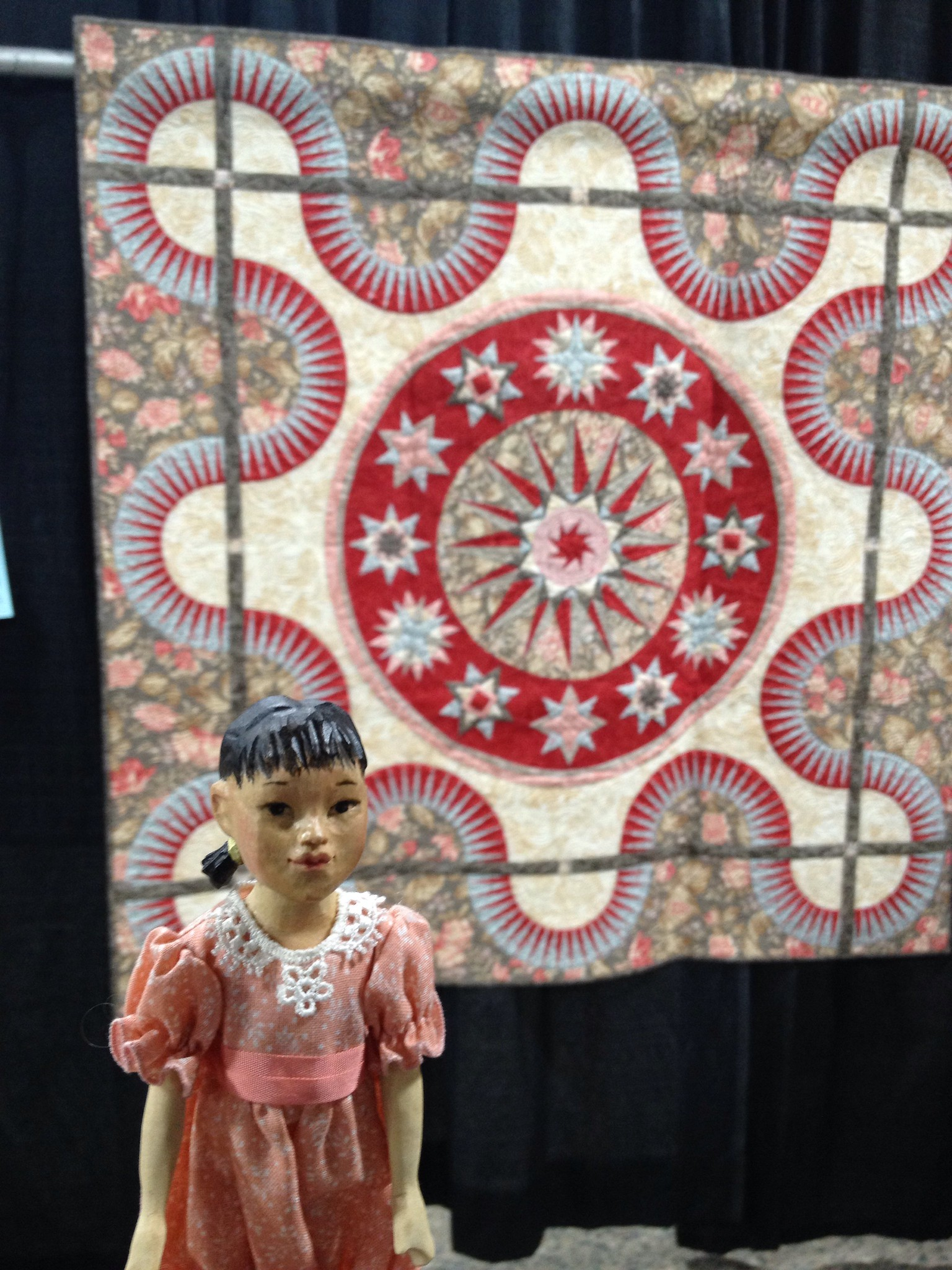 At the Philadelphia Quilt Show