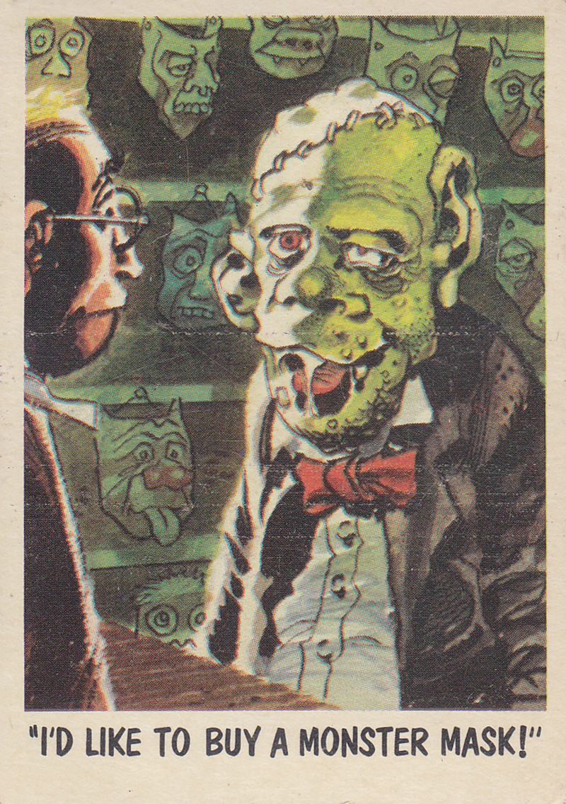 """You'll Die Laughing"" Topps trading cards 1959,  illustrated by Jack Davis (03)"