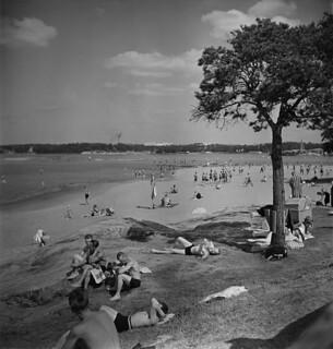 Hietaniemi beach, June 1948