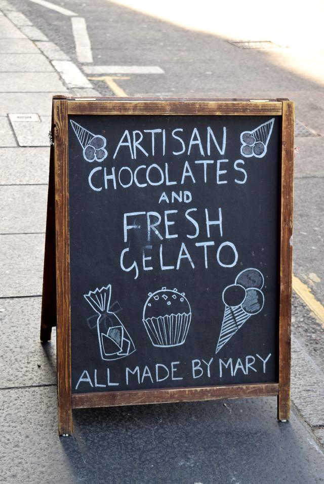 Mary's Milk Bar Signage, Edinburgh | www.rachelphipps.com @rachelphipps