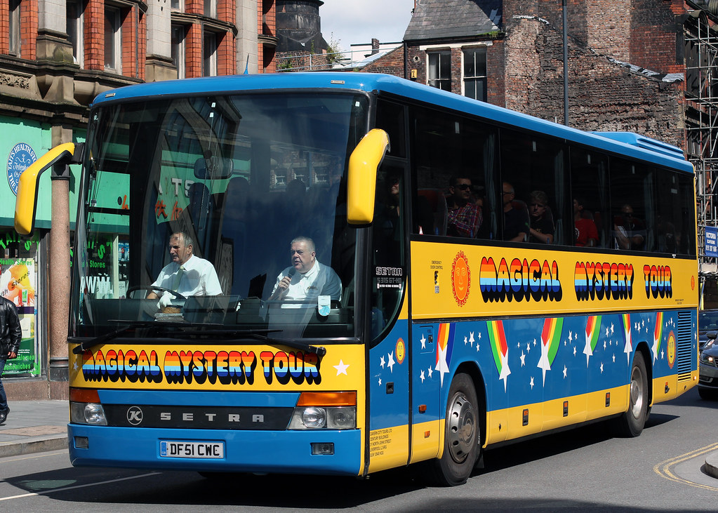 Magical Mystery Tour Toy Bus