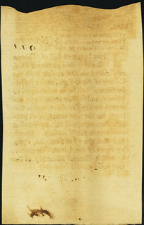 New York November 1, 1709 Lyon Dollars note back