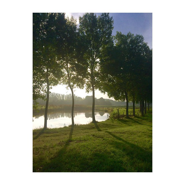 Don't you just get happy from the Boo Radleys song 'wake up it's a beautiful morning' from the 90ies ?! I know I do 😃 love Kathleen #blog #thegoodthefabandthelovely #blogger #morning #morningrun #morninglight #nature #running #jogging #view #sunris