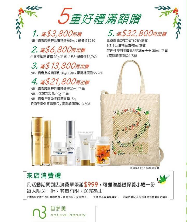 台中自然美大墩店週年慶戰利品分享 (3)