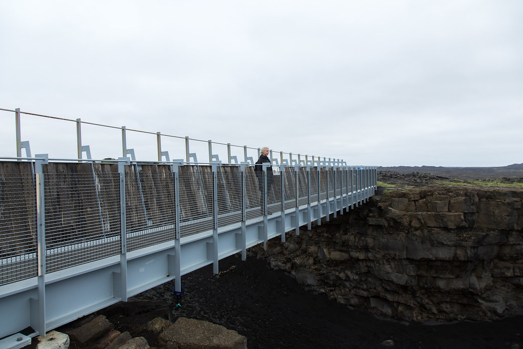 Bridge between continents – Iceland