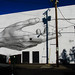 The new mural at the Academy Theater. by urbanadventureleaguepdx