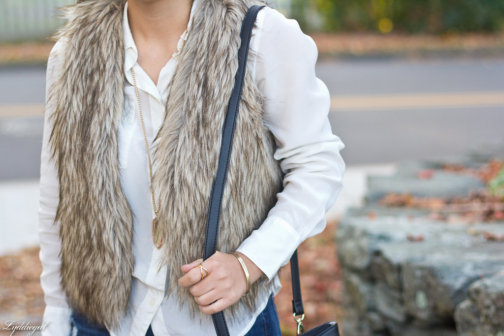 white blouse, fur vest, over the knee boots-6.jpg