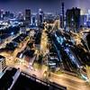 Night view in Kuala Lumpur, Malaysia