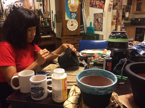 Painting Pots (October 29 2014)