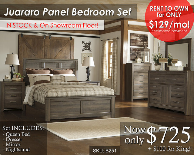 Juararo Panel Set in stock