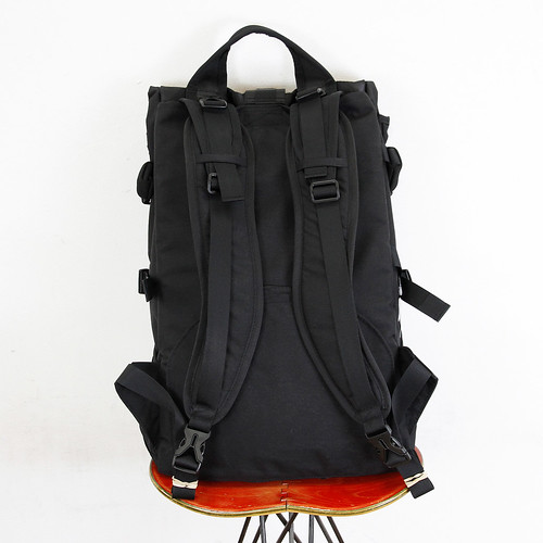 RIDE BAG / OFUKUROSAN オフクロサン / BLACK / No.692