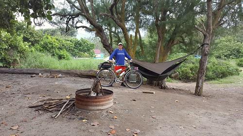 Camping at Malaekahana