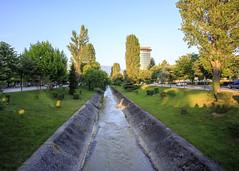 Tirana, open sewer